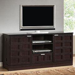 Baxton Studio Tosato Modern TV Stand & Media Cabinet by