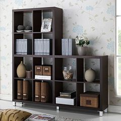 Baxton Studio Sunna Modern Cube Shelving Unit by
