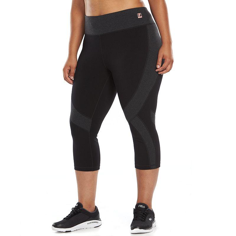 Plus Size FILA SPORT® Swift Capri Running Leggings