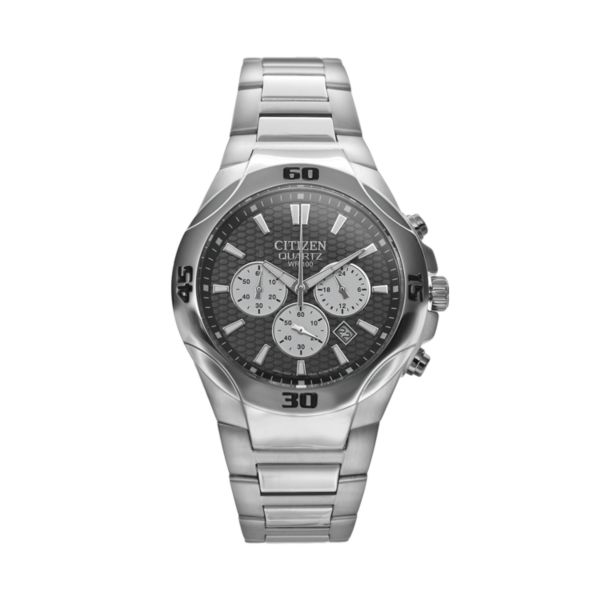 Citizen Men's Stainless Steel Chronograph Watch - AN8020-51H