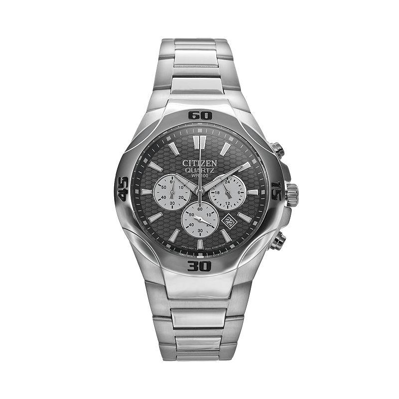 Citizen Men's Stainless Steel Chronograph Watch - AN8020-51H