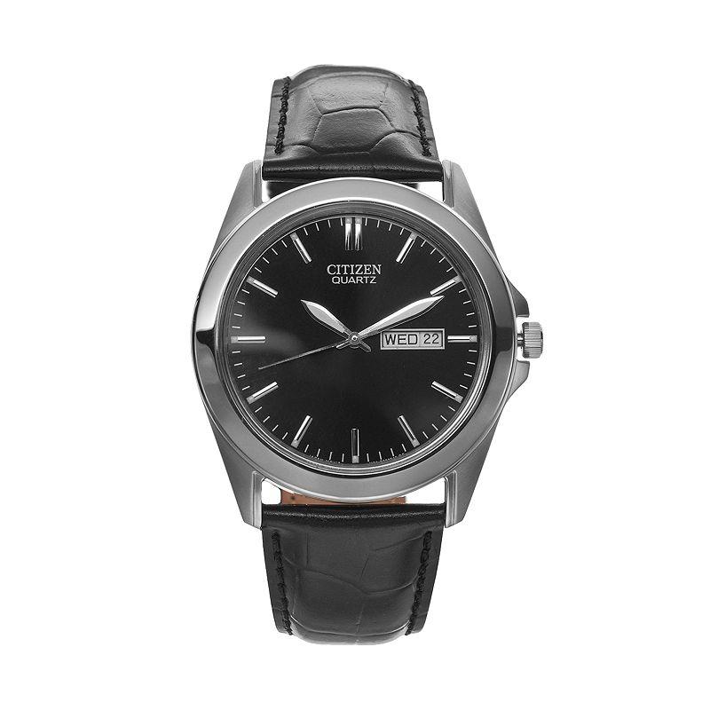 Citizen Men's Leather Watch - BF0580-06E