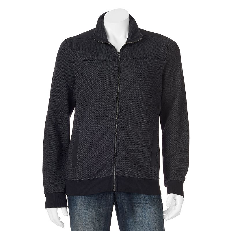 Men's Apt. 9® Modern-Fit Marled Fleece Full-Zip Jacket
