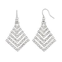 Franco Gia Statement Chandelier Earrings