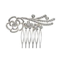 Franco Gia Flower Hair Comb