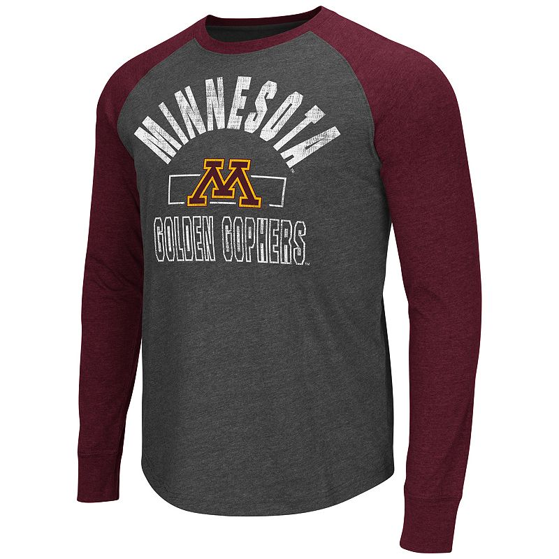 Men's Campus Heritage Minnesota Golden Gophers Hammer Raglan Tee