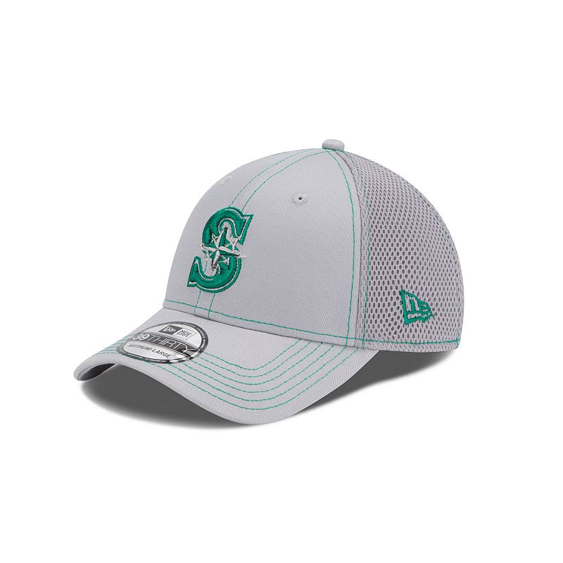 Adult New Era Seattle Mariners Neo 39-THIRTY Stretch-Fit Cap
