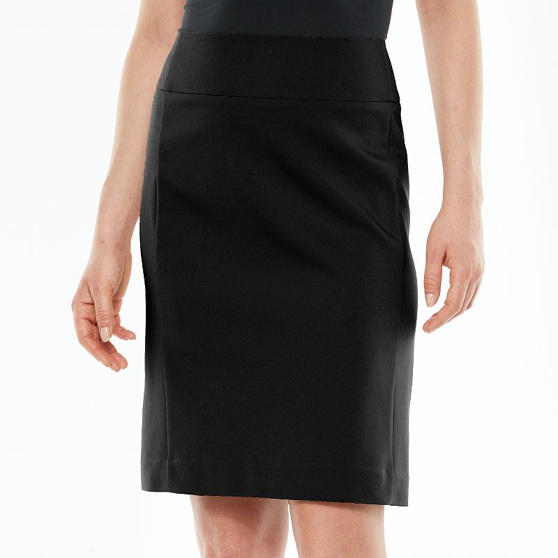 Petite Apt. 9® Solid Pencil Skirt