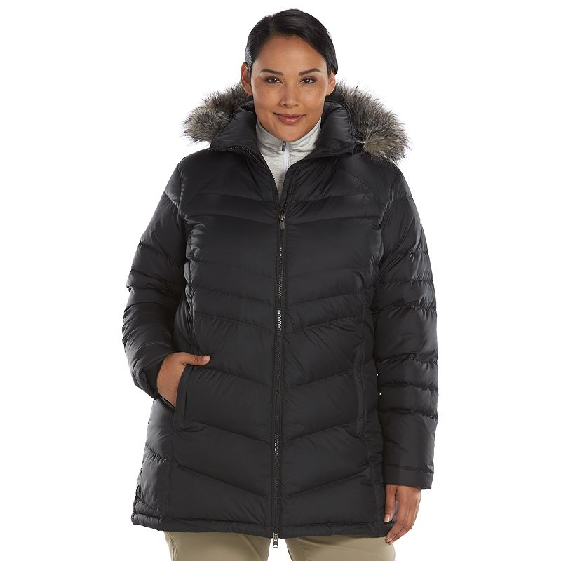 Plus Size Columbia Snow Beauty Down Puffer Jacket