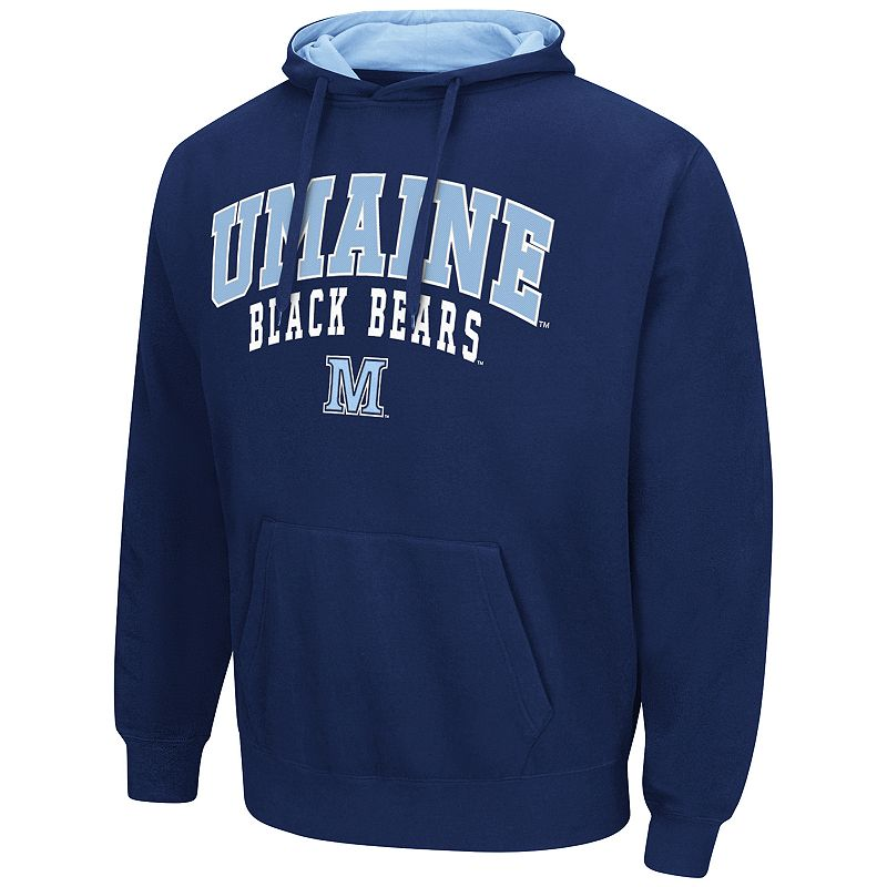 Men's Campus Heritage Maine Black Bears Blue Core Pullover Hoodie