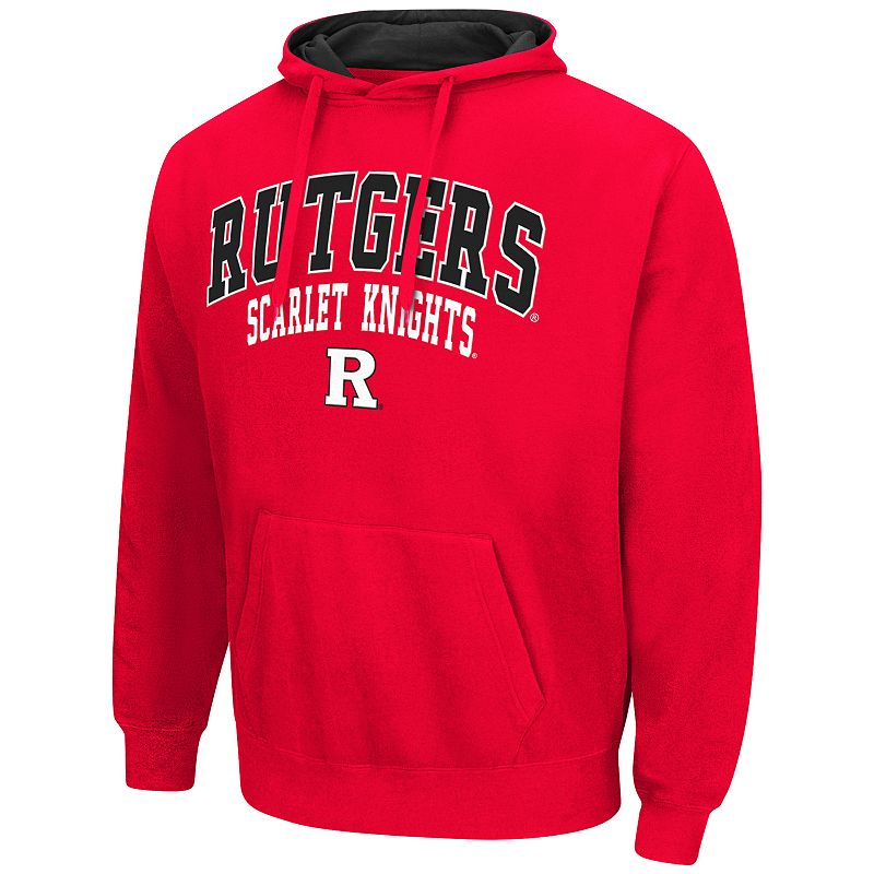 Men's Campus Heritage Rutgers Scarlet Knights Red Core Pullover Hoodie
