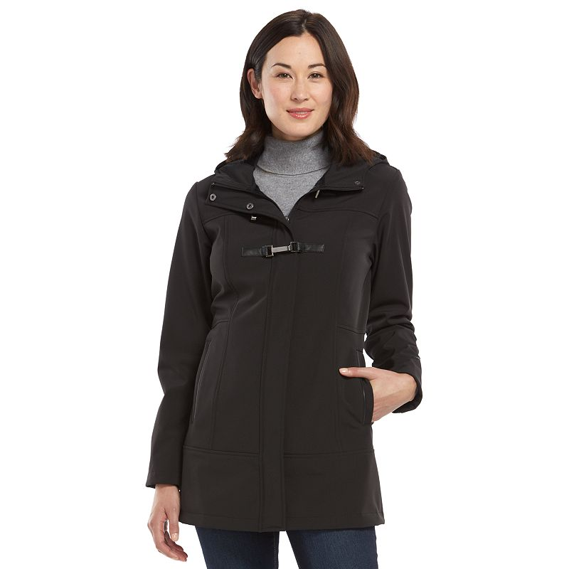 Women's Free Country Toggle Hooded Soft Shell Jacket