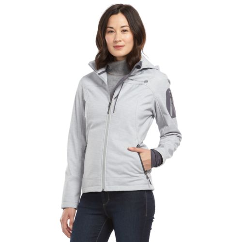 Women's Free Country Sporty Hooded Soft Shell Jacket