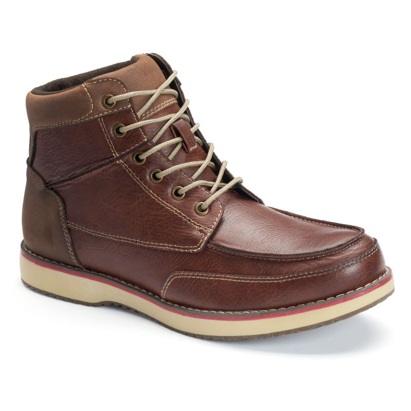 sonoma lifte style s casual lace up ankle boots brown