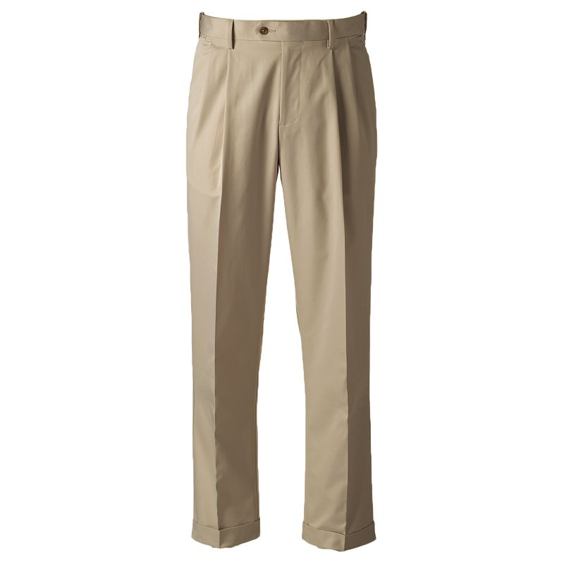 Men's Croft & Barrow® Classic-Fit Performance Khaki Pants