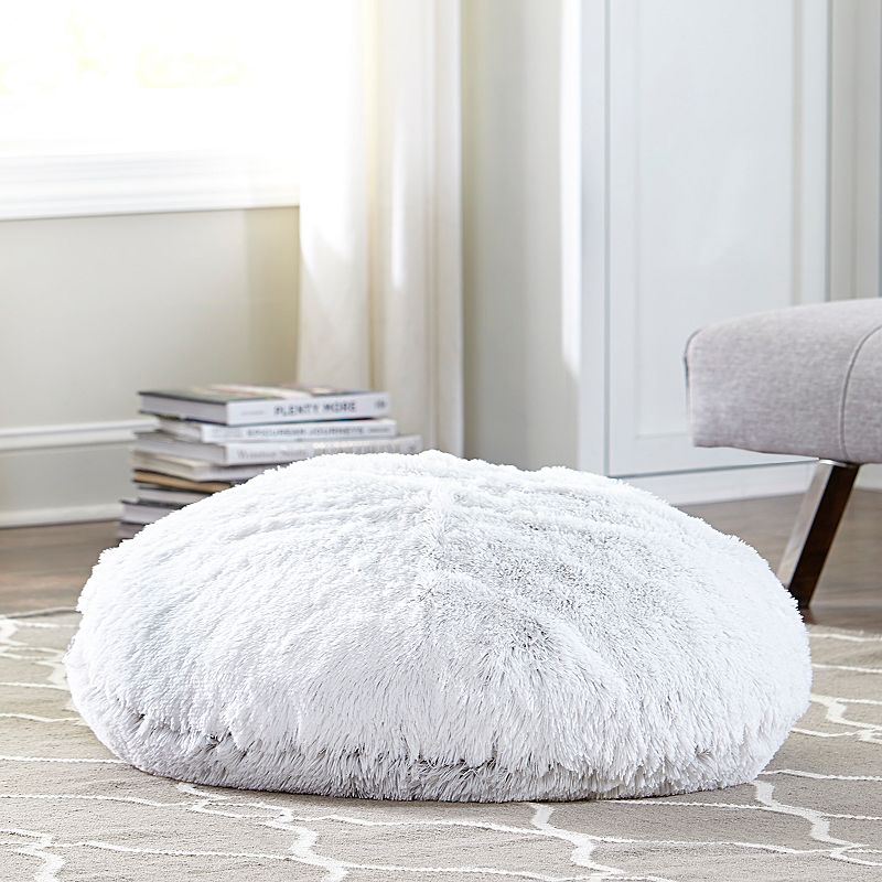 Floor Pillows Kohls : White Faux Fur Throw Pillow Kohl s