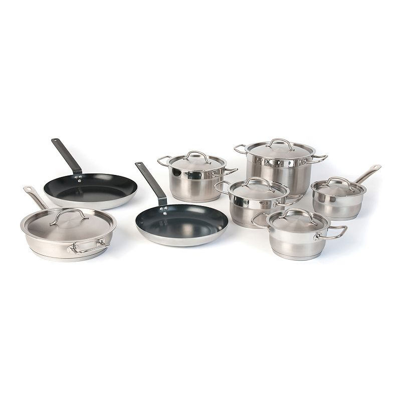 BergHOFF 14-pc. Stainless Steel Cookware Set