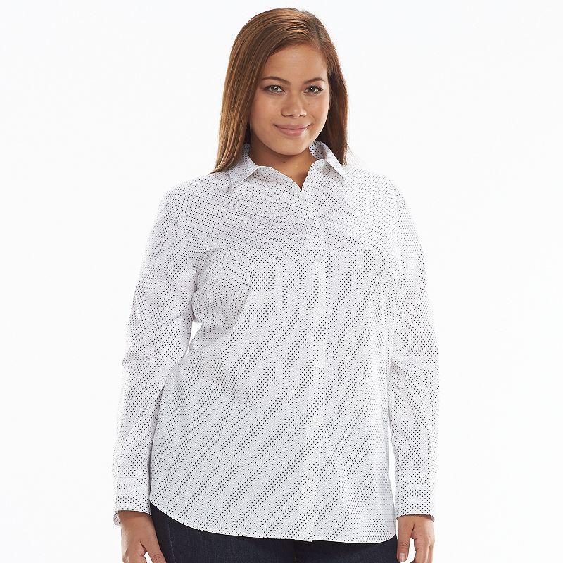 Apt 9 Structured Essential Button Down Shirt Women 39 S