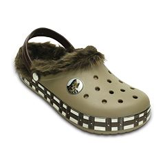 Crocs Star Wars Chewbacca Faux-Fur Unisex Clogs by