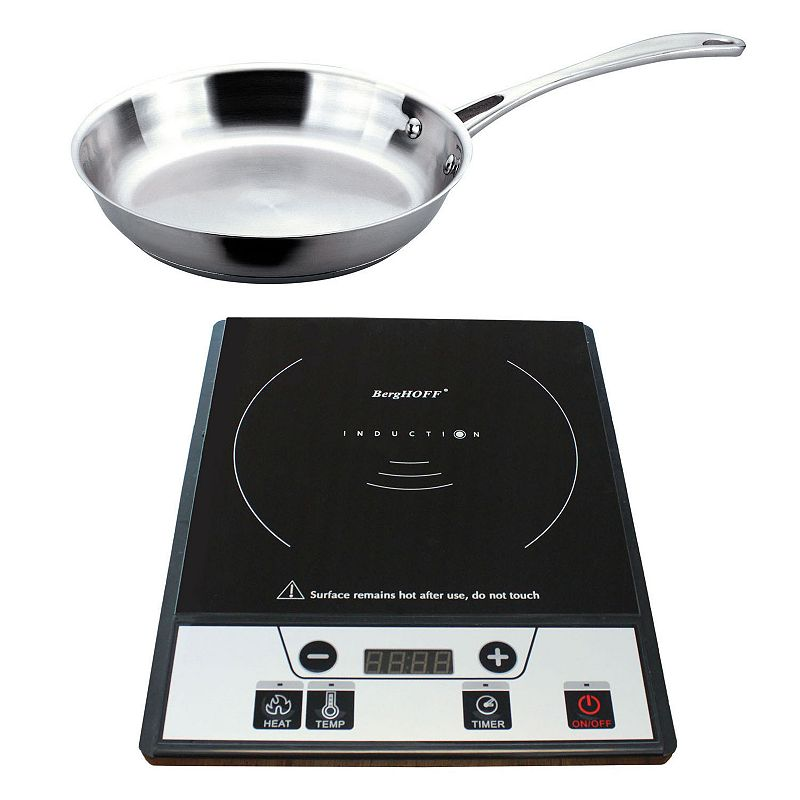 BergHOFF Induction Stove with Stainless Steel Frypan