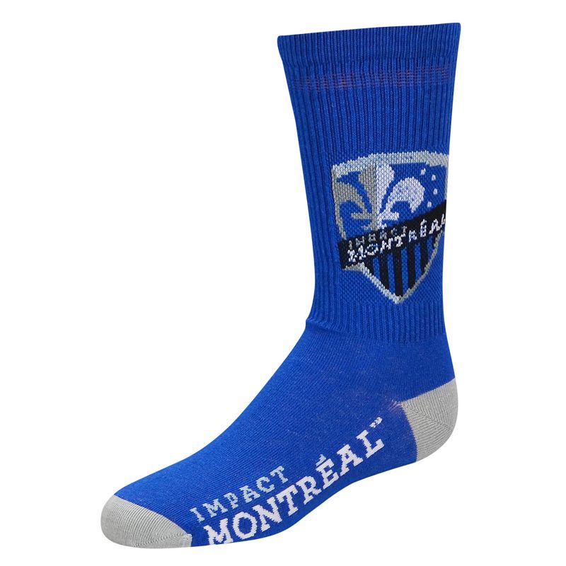 Youth For Bare Feet Montreal Impact Team Color Crew Socks