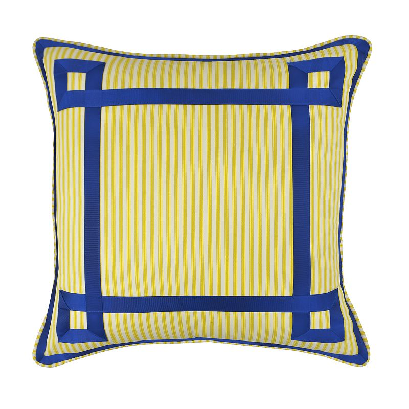 Waverly Charmed Grosgrain Throw Pillow
