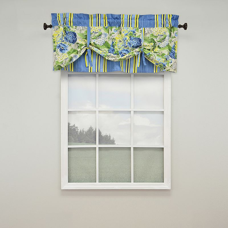 Waverly Floral Flourish Valance - 52'' x 21''