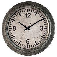 Galvanized Wall Clock