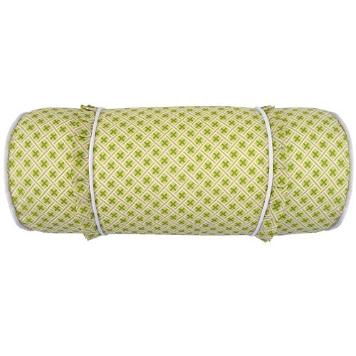 Throw Pillow Roll : Waverly Emma s Garden Neck Roll Throw Pillow