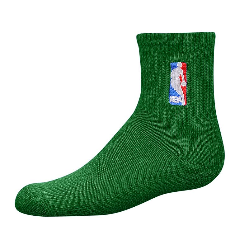 Men's Youth For Bare Feet NBA 2-Pack 1/4-Crew Socks
