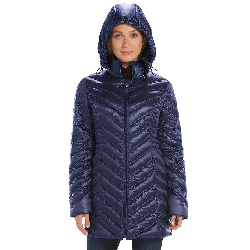 Women's Apt. 9® Twinkle Packable Chevron Puffer Jacket