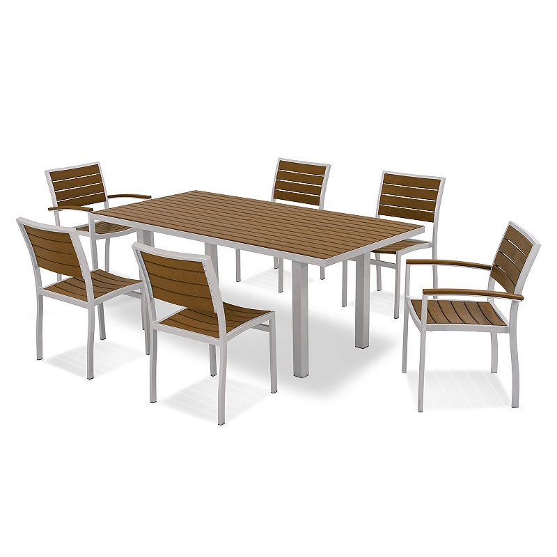 POLYWOOD® Euro 7-piece Outdoor Dining Set