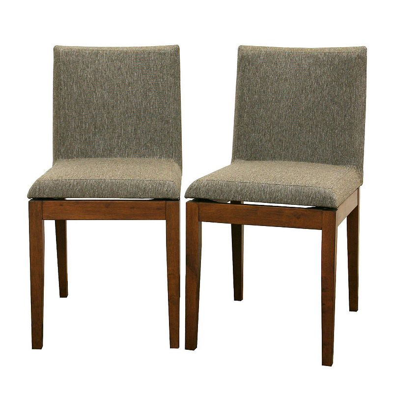 Baxton Studios 2-Piece Moira Modern Dining Chair Set