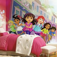 Dora & Friends Mural Wall Decal
