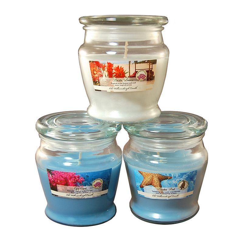 LumaBase 3-piece Fresh Collection 8-oz. Jar Candle Set