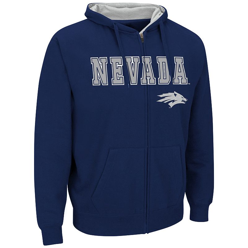 Men's Campus Heritage Nevada Wolf Pack Core Fleece Hoodie