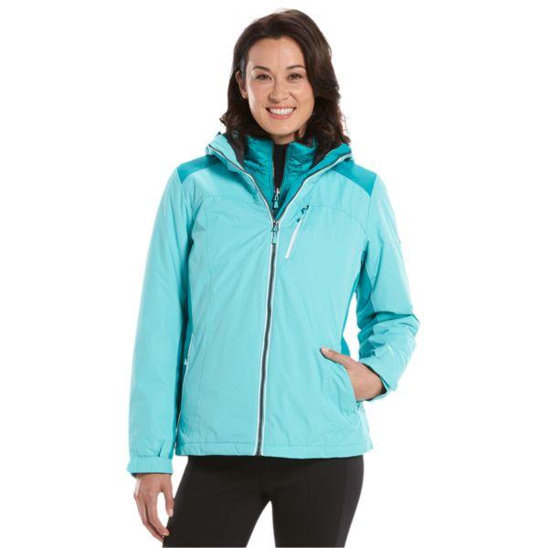 Women's ZeroXposur Hooded Storm Shield 3-in-1 Systems Jacket