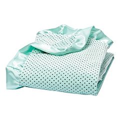 Trend Lab Dot Ruffle Receiving Blanket by