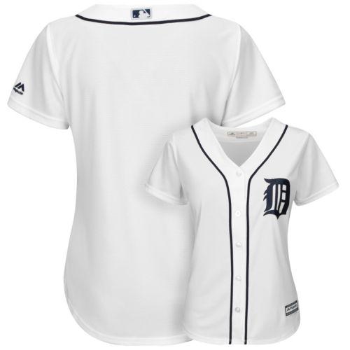 Majestic Detroit Tigers Cool Base Replica Jersey - Women's