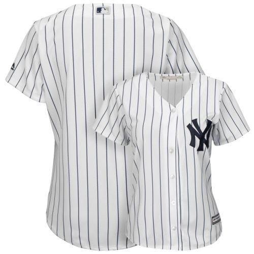 Women's Majestic New York Yankees Cool Base Replica Jersey