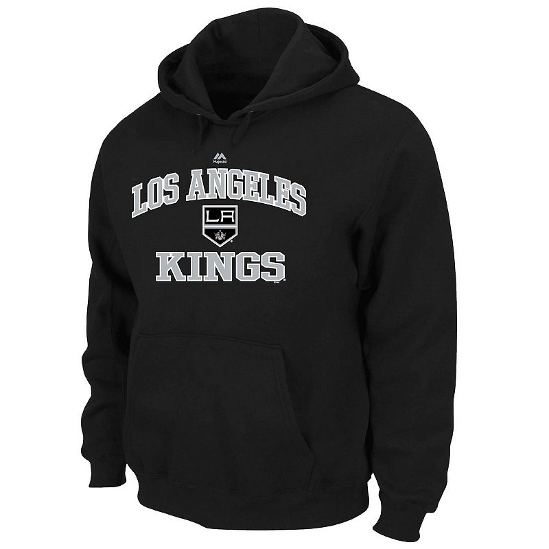 Big & Tall Majestic Los Angeles Kings Heart and Soul II Fleece Hoodie