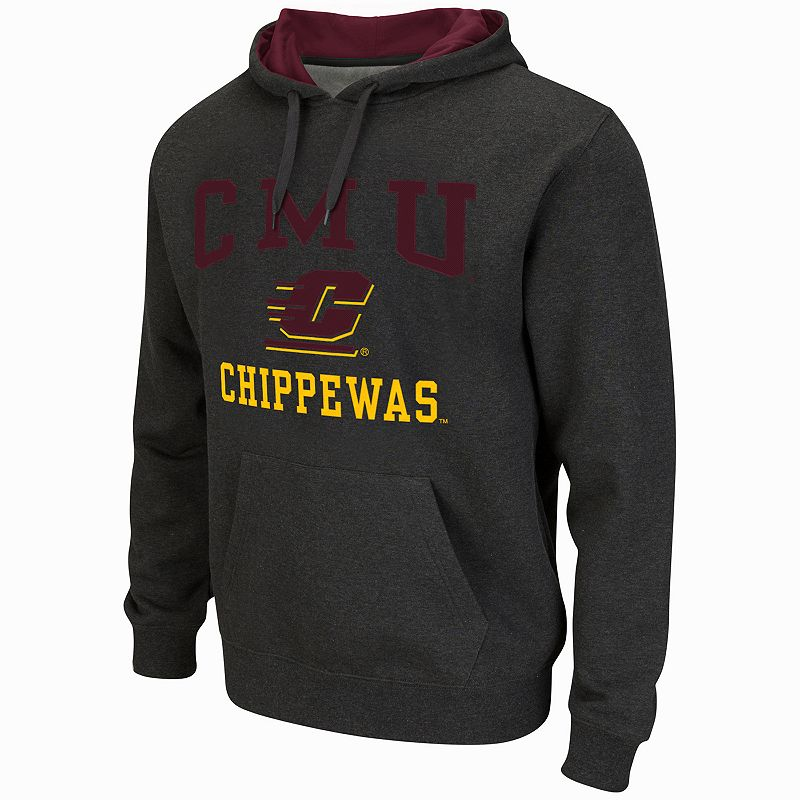 Men's Campus Heritage Central Michigan Chippewas Core Pullover Hoodie