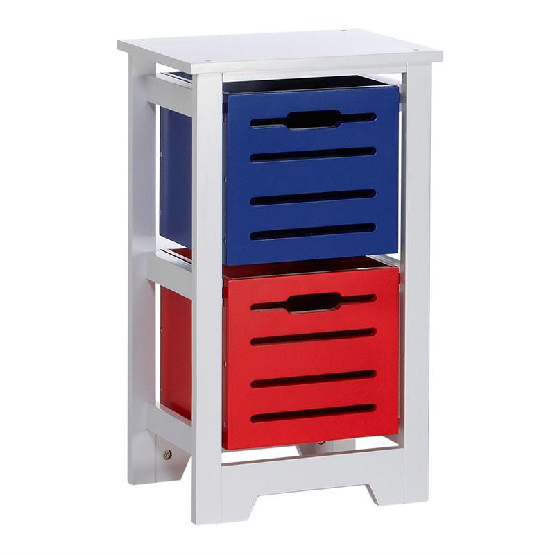 RiverRidge Kids 2-Bin Storage Cabinet