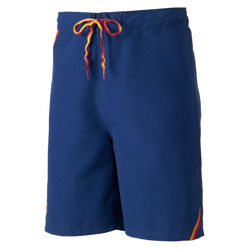 Men's Beach Rays Retro Microfiber E-Board Shorts