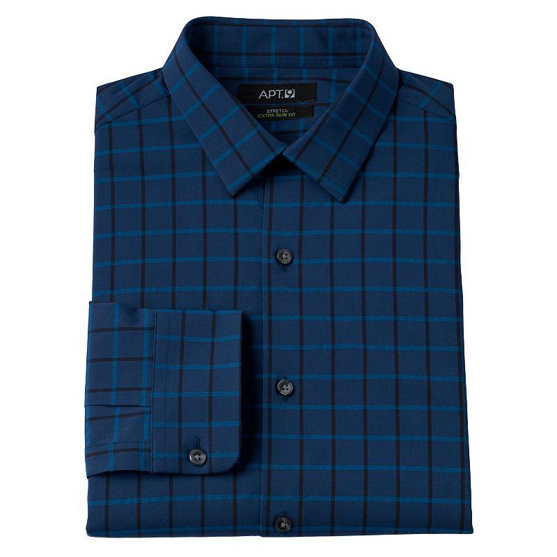 Apt 9 blue spread collar shirt kohl 39 s for Apartment 9 dress shirts