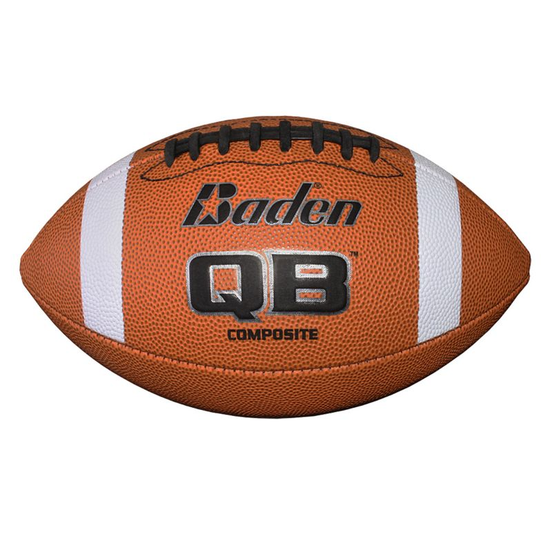 Baden QB1 Composite Official Football, Brown thumbnail