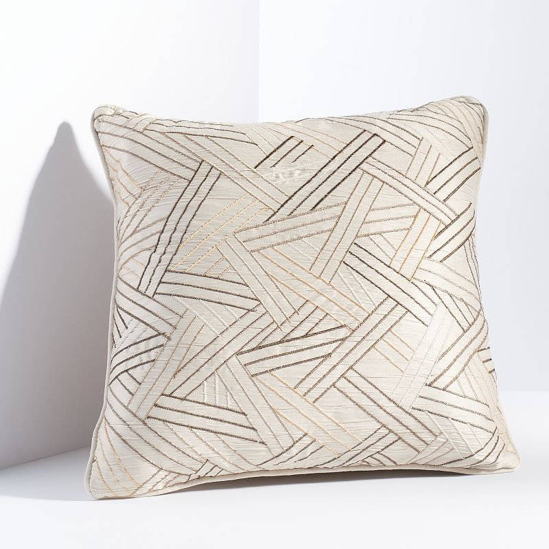 Simply Vera Vera Wang Embroidered Throw Pillow