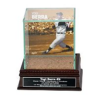 Steiner Sports New York Yankees Yogi Berra Single Baseball Display Case with Authentic Field Dirt