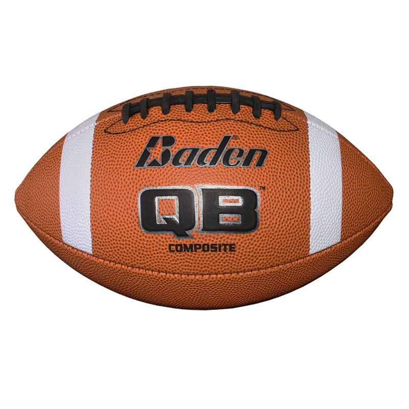 Baden QB1 Composite Junior Football - Youth, Brown thumbnail