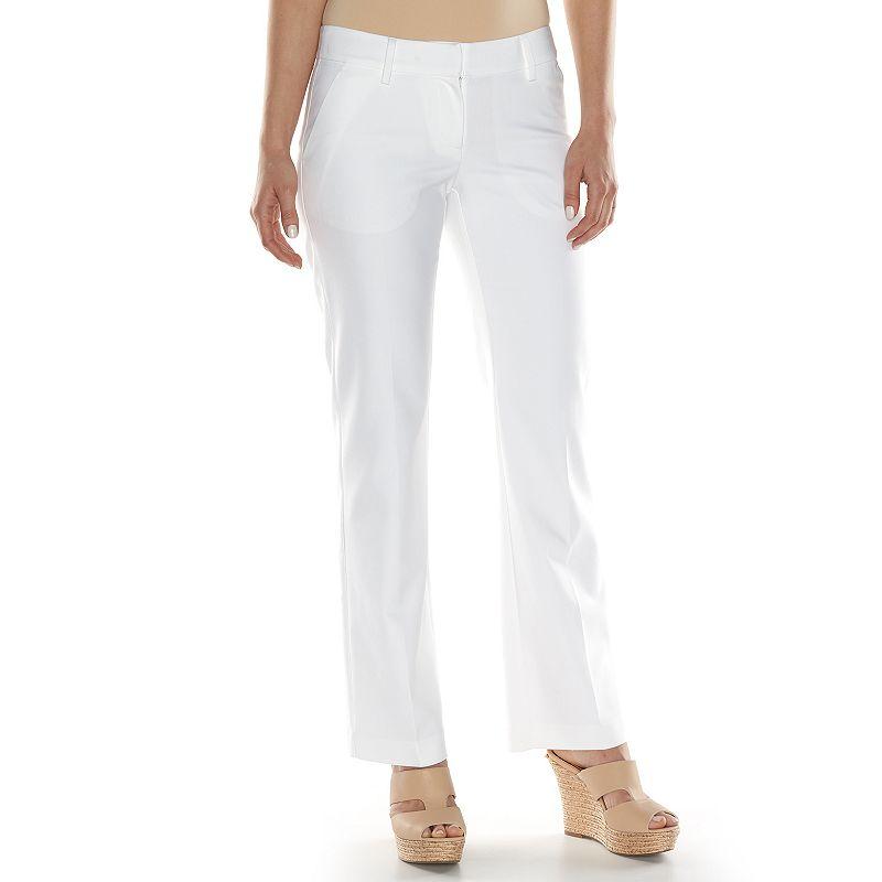 Women's Apt. 9® Torie Modern Fit Straight-Leg Dress Pants